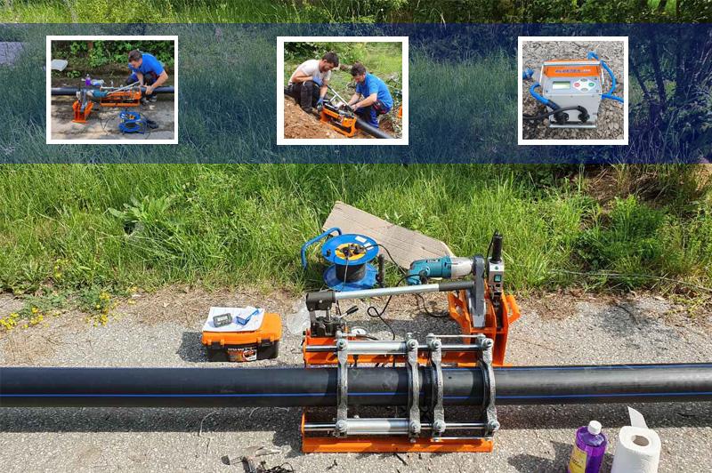 Под наем машини за челно заваряване (електродифузно)